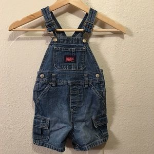 Old Navy Baby Denim Overalls With Pockets